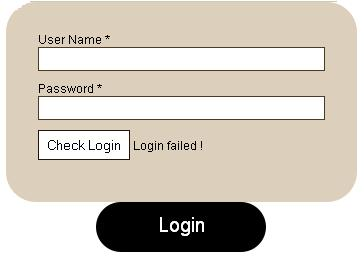jquery login form with sliding effects