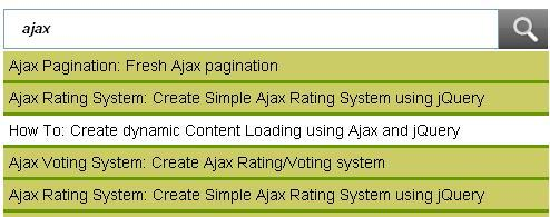 Ajax Tutorial: How to Create Ajax Search Using PHP jQuery