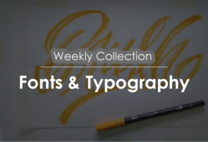 weekly font and typography
