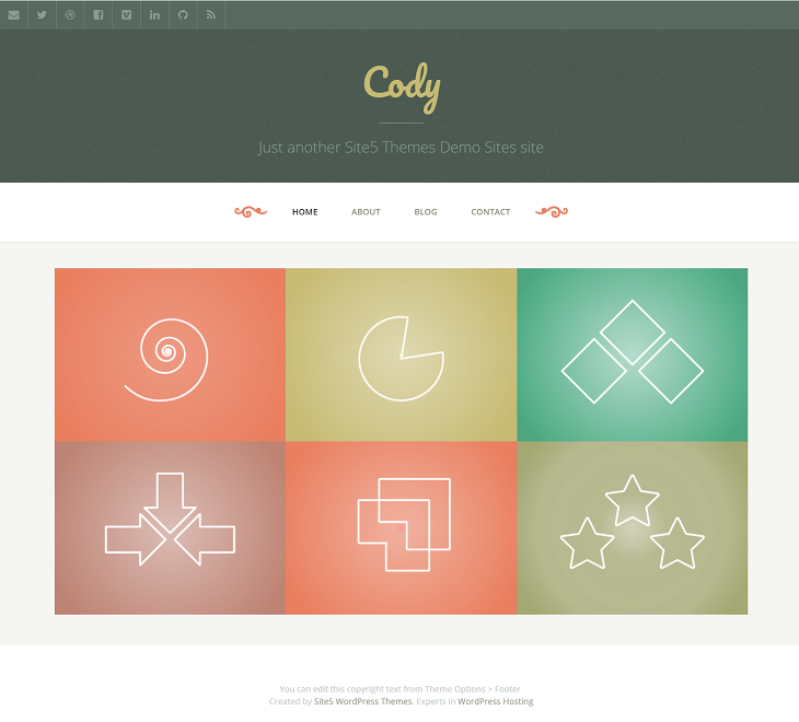 Cody Resume website template, bootstrap resume website