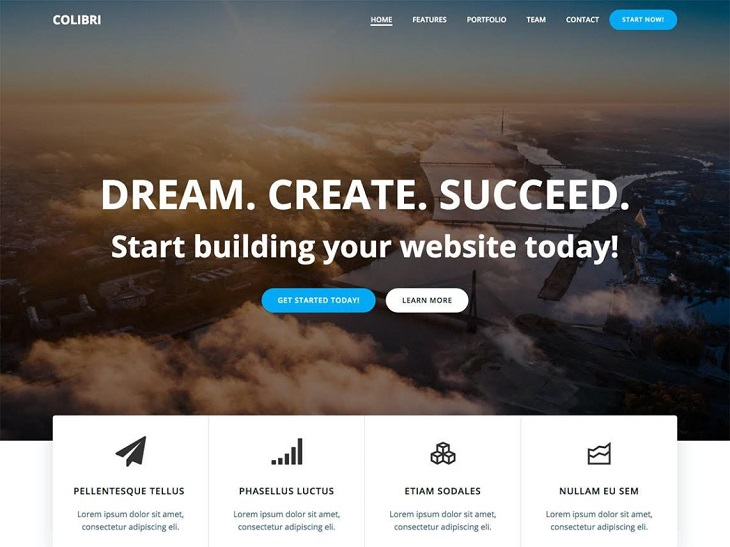 Colibri WP WordPress Themes, customizable wordpress themes