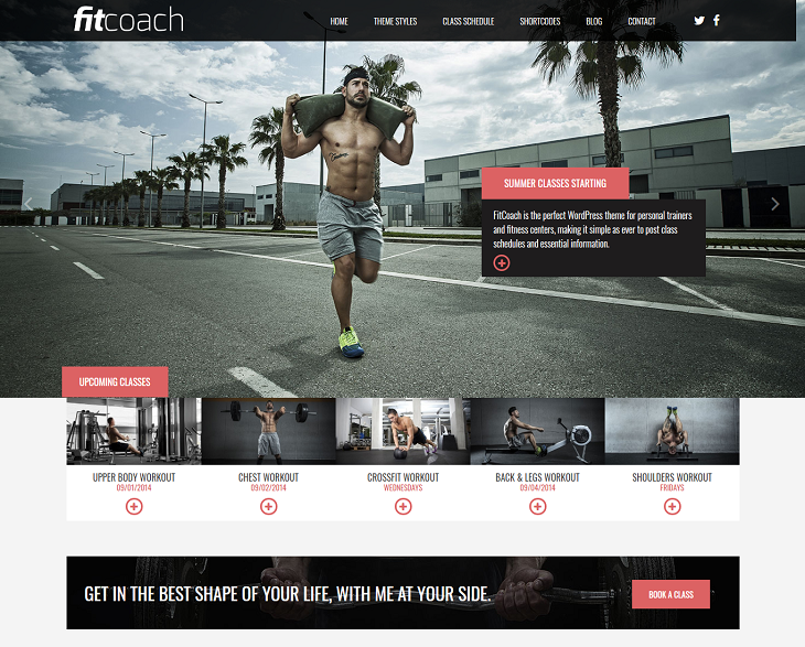 Fit Coach WordPress Themes, responsive themes wp