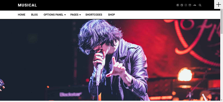 Musical WordPress Themes, free wordpress theme