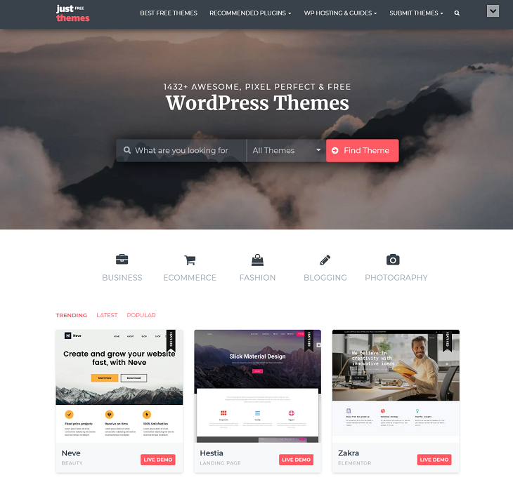 Oblique WordPress Themes, responsive wordpress themes free